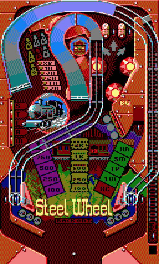 Screenshot of Pinball Dreams
